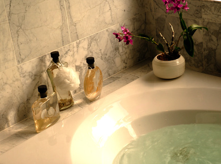 Bath Oils and Orchid