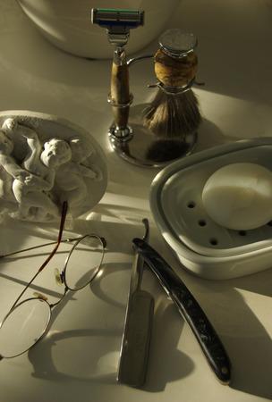 toilette: Mens toilette set