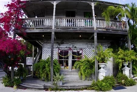 The flower shop on Simonton Street, Key West Editöryel