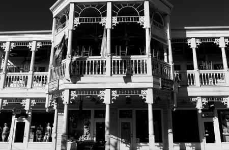 Shops along Duval Street, Key West Editöryel