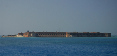 dry tortugas: Distance photo of Fort Jefferson in the Dry Tortugas, Florida
