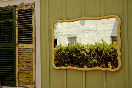 Details of a house in Key West, Florida Editorial