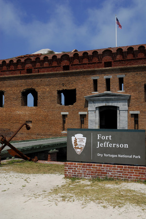 fort jefferson: Entrance to Fort Jefferson in the Dry Tortugas