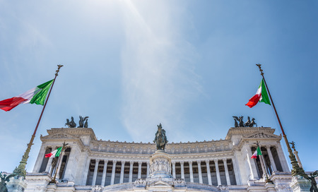 eclecticism: Altar of the Fatherland in Rome