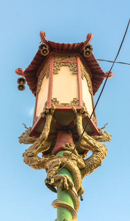 Lamp from Chinatown in San Francisco