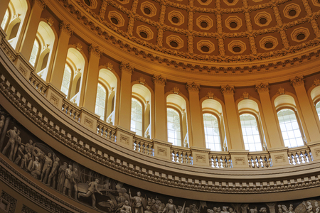 Washinton D.C., Usa, october 2016: interior of the Washington capitol hill dome Rotunda
