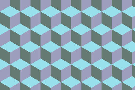 Pattern of hexagons that repeats seamlessly. Vector graphics. Abstract backdrop