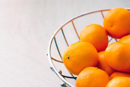 Group of tangerines. Citrus fruit. Orange color of the peel. Juicy and healthy fruit