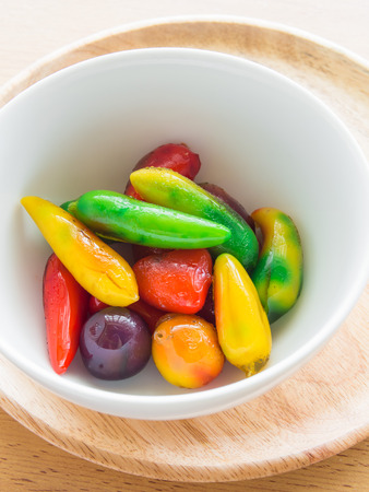delectable: Delectable imitation fruits, Thai traditional dessert
