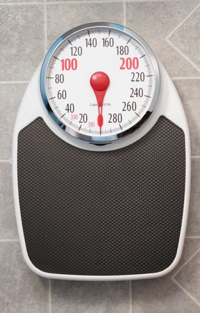 weighing: Bathroom Scale