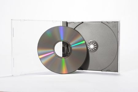 CD and case Stock Photo