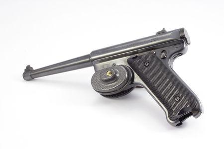 desencadenar: Pistola con gatillo de bloqueo Foto de archivo