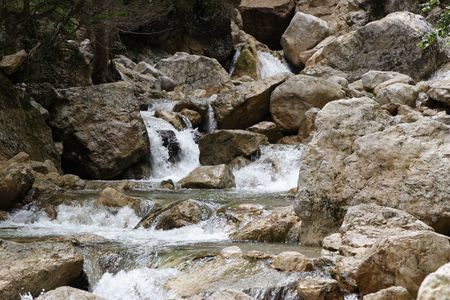 Rocky Stream Stock Photo - 2133487