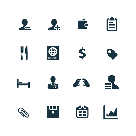b2b: B2B iconos conjunto sobre fondo blanco Vectores