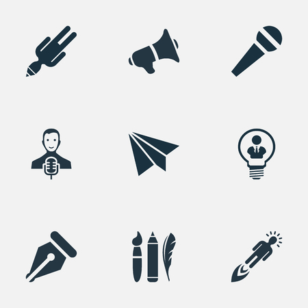 apathy: Vector Illustration Set Of Simple Visual Art Icons. Elements E-Mail, Apathy, Entrepreneur And Other Synonyms Success, Mind And Performance. Illustration