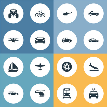 Vector Illustration Set Of Simple Shipment Icons Illustration