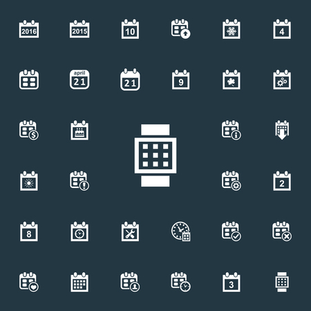 flotation: Elements Snowflake, Complete, Dollar And Other Synonyms Significant, Watch And 2.  Vector Illustration Set Of Simple Plan Icons. Illustration