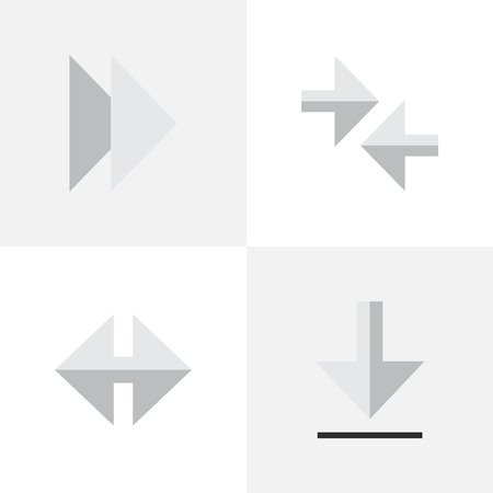 Vector Illustration Set Of Simple Indicator Icons. Elements Indicator, Export, and more.