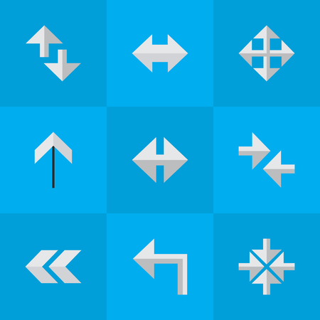 Elements Cursor, Everyway, Inside And Other Synonyms Loading, Up And Back. Stok Fotoğraf - 84004857