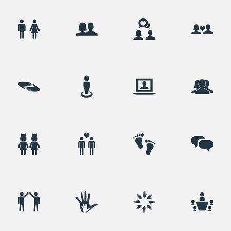 要素のアンサンブル、裸足、性別、他の同義語の人間男性と会話。