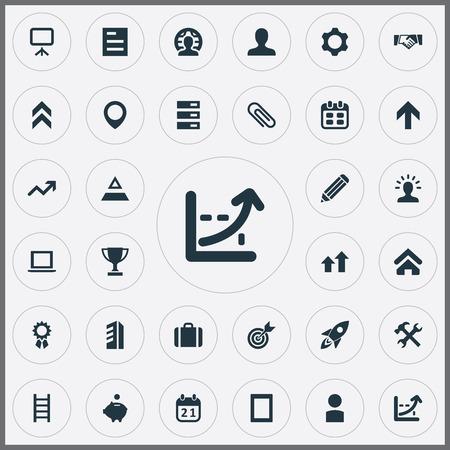 벡터 일러스트 레이 션 간단한 팀웍 아이콘의 집합입니다. 요소 데이터베이스, 포인트, 회원 및 기타 동의어 상향, 노트북 및 클라이언트.