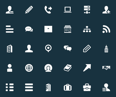 Vector Illustration Set Of Simple Teamwork Icons. Elements Signal, Library, Add And Other Synonyms Book, Personal And Dialogue.