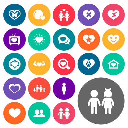 Vector Illustration Set Of Simple Wedding Icons. Elements Lesbian, Dialogue, Smiling Love And Other Synonyms Find, Lovers And Happy.