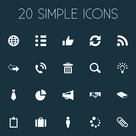 Elements Planet, Hotline, Download And Other Synonyms Wait, Hotline And Reminder.  Vector Illustration Set Of Simple People Icons.