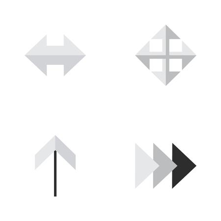 要素を毎日、以降を広げると他の類義語の矢印サイズを変更し、拡大します。  イラスト・ベクター素材