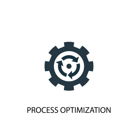 process optimization icon. Simple element illustration. process optimization concept symbol design. Can be used for web and mobile.