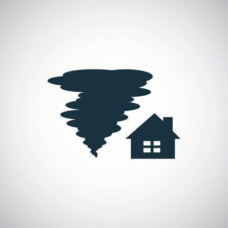 tornado insurance icon