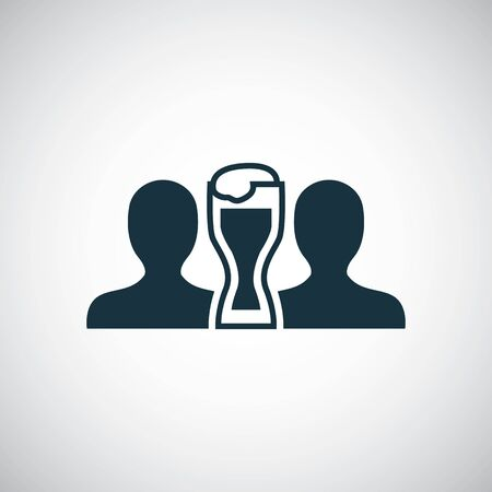 friends beer icon