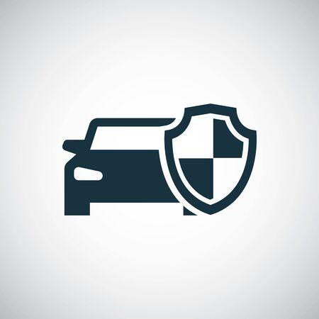 car shield icon Ilustração