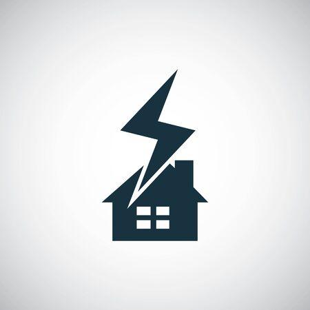 lightning insurance icon