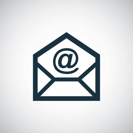 e-mail icon. trendy simple concept symbol design Фото со стока - 130160163