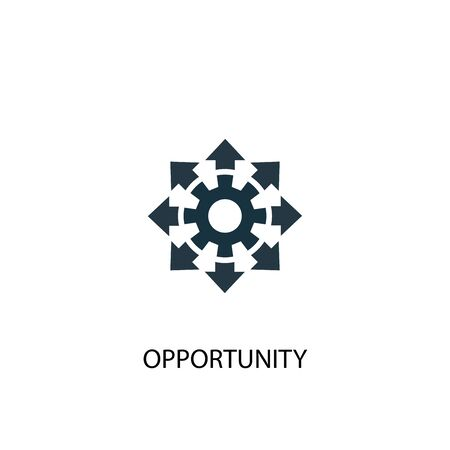 opportunity icon. Simple element illustration. opportunity concept symbol design. Can be used for web Standard-Bild - 130221924