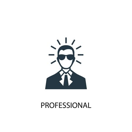 professional icon. Simple element illustration. professional concept symbol design. Can be used for web