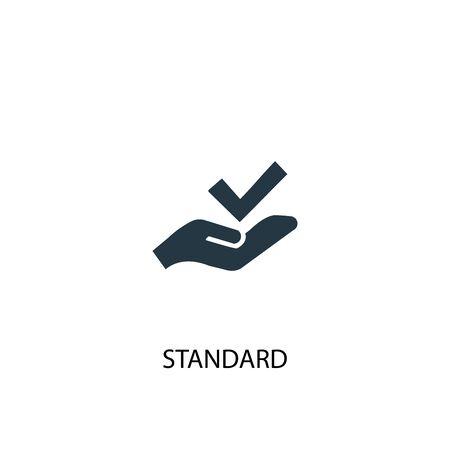 icona standard. Illustrazione semplice dell'elemento. disegno di simbolo di concetto standard. Può essere utilizzato per il web
