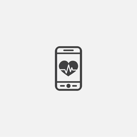 fitness app base icon. Simple sign illustration. fitness app symbol design. Can be used for web, print and mobile
