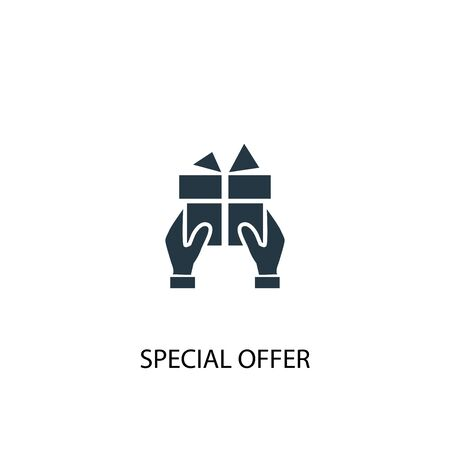 special offer icon. Simple element illustration. special offer concept symbol design. Can be used for web 일러스트