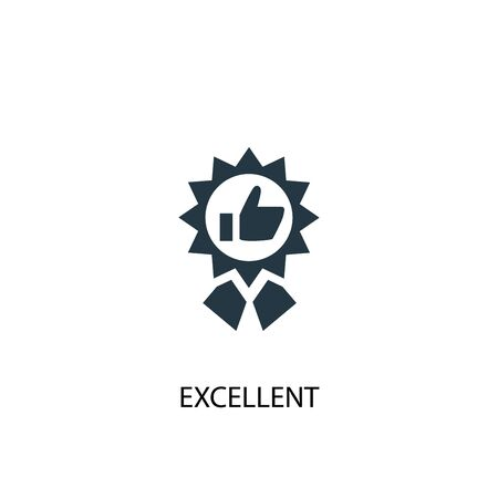 excellent icon. Simple element illustration. excellent concept symbol design. Can be used for web 스톡 콘텐츠 - 130222866