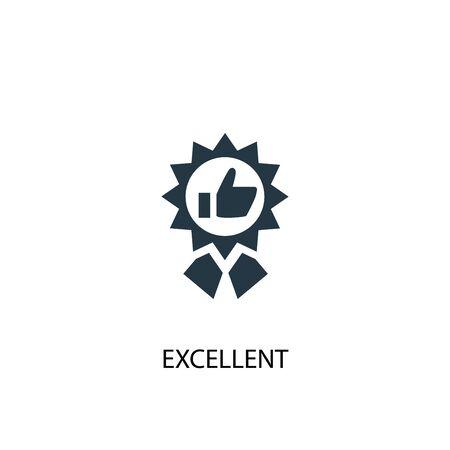 ottima icona. Illustrazione semplice dell'elemento. eccellente design del simbolo del concetto. Può essere utilizzato per il web Vettoriali