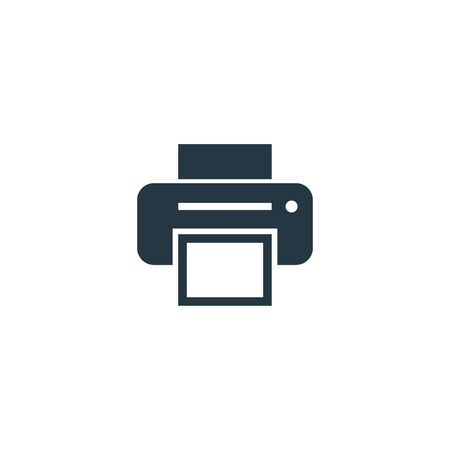 Printer icon. Simple element illustration for web and mobile