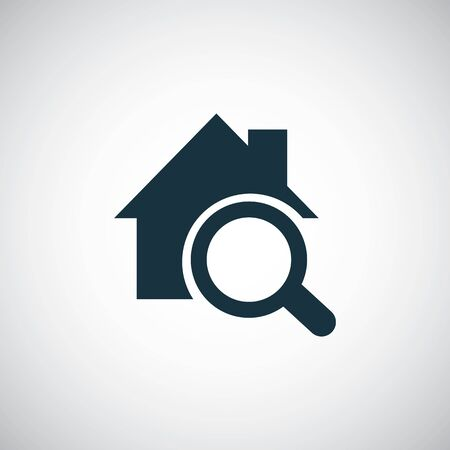 home search icon for web and UI on white background