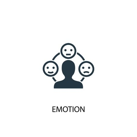 emotion icon. Simple element illustration. emotion concept symbol design. Can be used for web