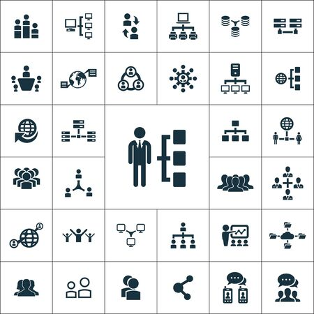 network icons universal set for web and mobile.