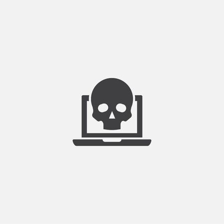 scam base icon. Simple sign illustration. scam symbol design. Can be used for web and mobile 일러스트