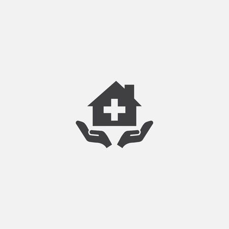 home care base icon. Simple sign illustration. home care symbol design. Can be used for web and mobile