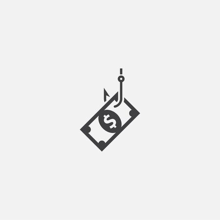 phishing base icon. Simple sign illustration. phishing symbol design. Can be used for web and mobile
