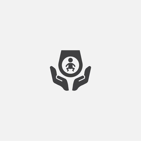 Prenatal care base icon. Simple sign illustration. Prenatal care symbol design. Can be used for web and mobile